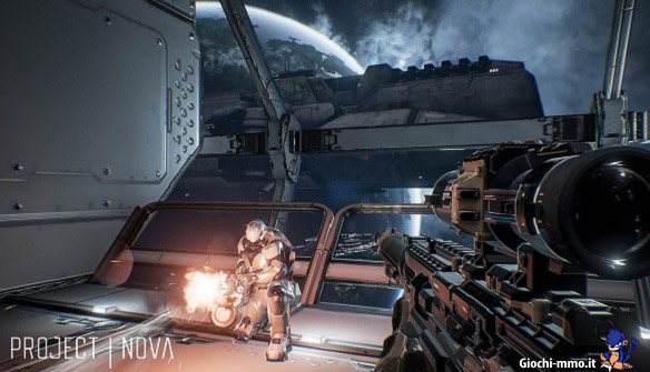Immagine nuovo sparatutto Project Nova