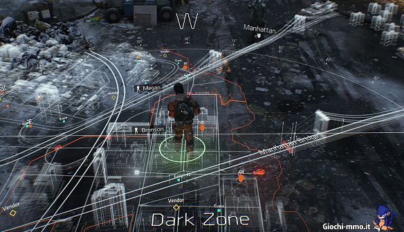Mappa The Division