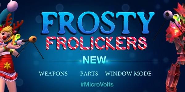 """MicroVolts: aggiornamento natalizio """"Frosty Frolickers"""""""