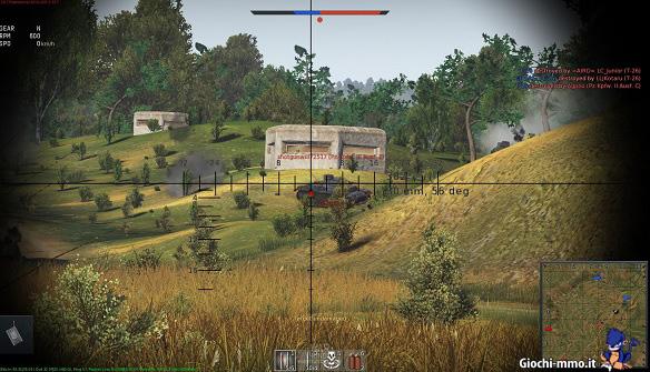 Mirino War Thunder Ground Forces