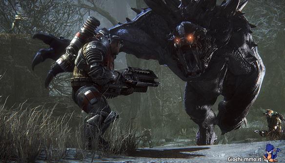 Mostro e cacciatore Evolve Stage 2
