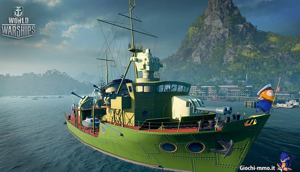 Nave colorata World of Warships