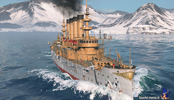 Nave tra i ghiacci World of Warships