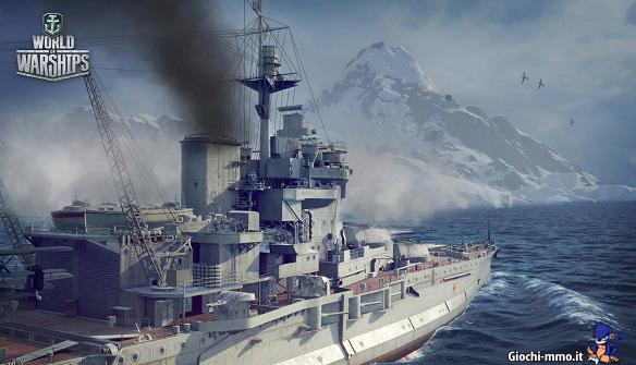 Neve World of Warships