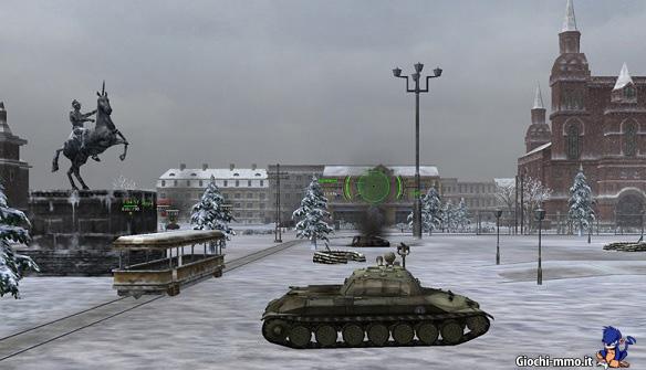 Paesaggio innevato Ground War Tanks