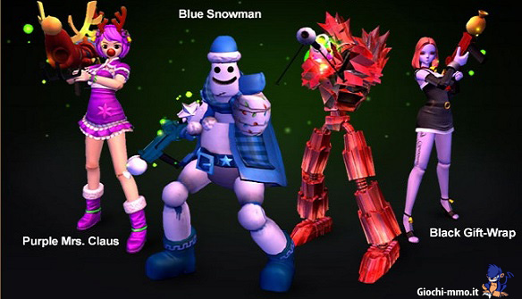 Personaggi Frosty Frolickers