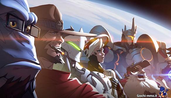 Personaggi gioco Overwatch