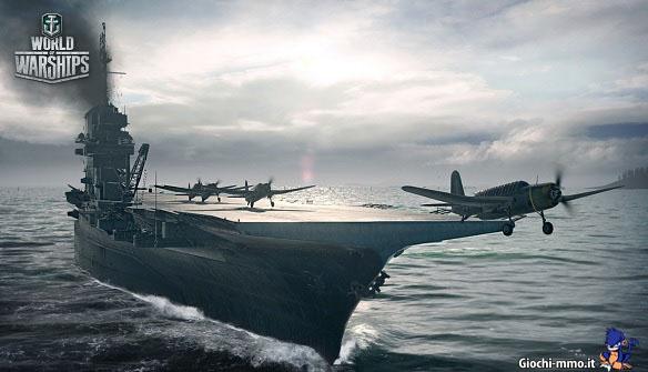 Portaerei World of Warships