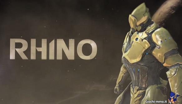 Rhino warframe