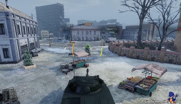 Scenario di guerra Armored Warfare
