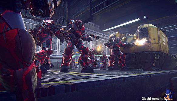 Soldati corazzati in PlanetSide 2