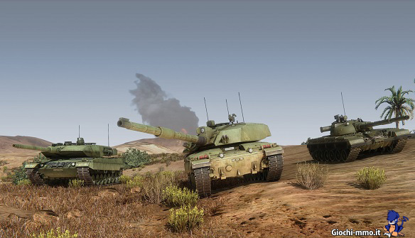 Veicoli blindati Armored Warfare