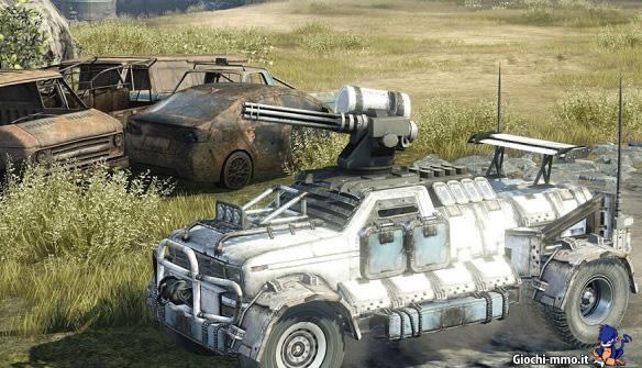 Veicolo corazzato Crossout