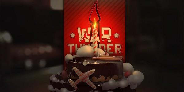 War Thunder festeggia il primo anniversario