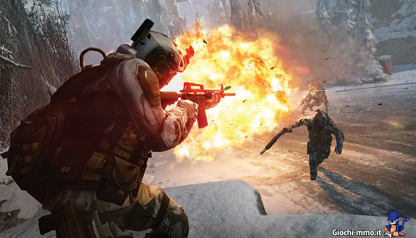 Warface soldati Operation Cold Peak