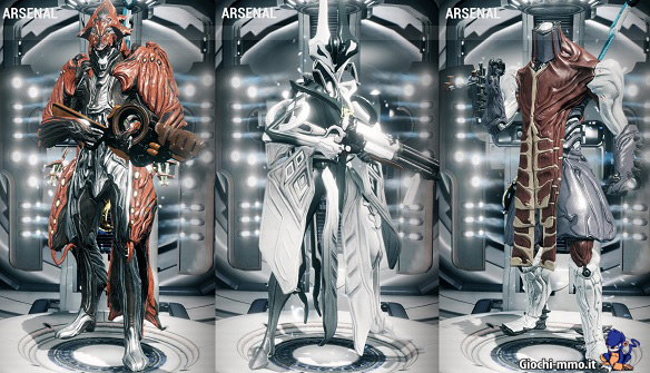 Warframe Chroma, Equinox, Atlas