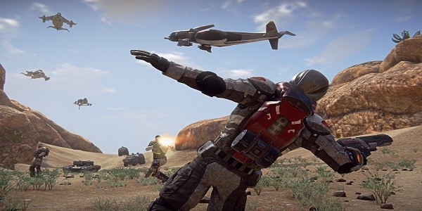 PlanetSide 2: intervista al Senior Art Director