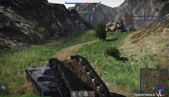 capottamento in War Thunder Ground Forces