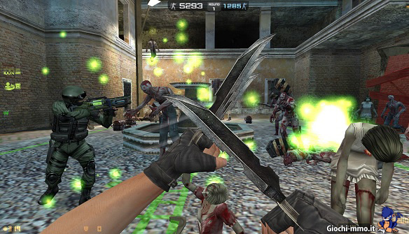 coltelli Counter-Strike Nexon Zombies