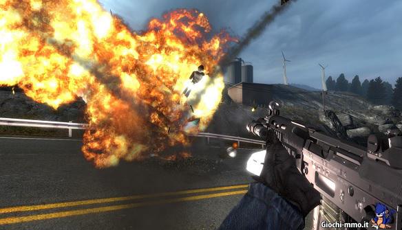 esplosione Tactical Intervention