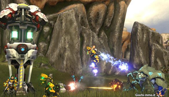 firefall combattimento mostri