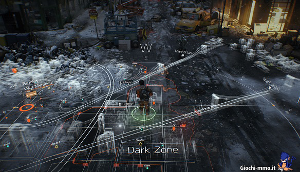 mappa Tom Clancy's The Division