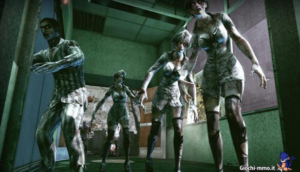 nemici in Zombies, Monsters, Robots