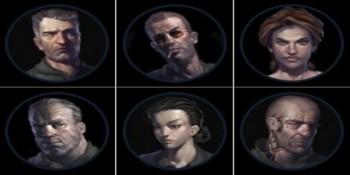 I personaggi giocabili in Alien Swarm