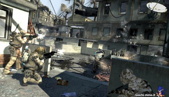 sparatoria Ghost Recon Online