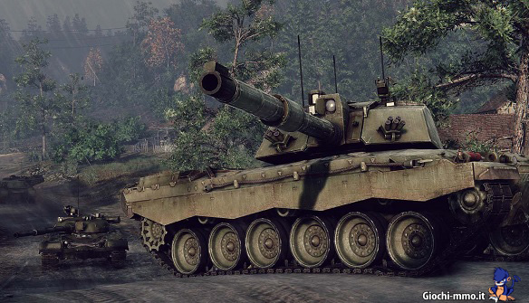 veicolo blindato Armored Warfare