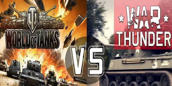 War Thunder Ground Forces: confronto con World of Tanks