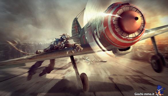 zombie world of warplanes