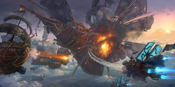 Cloud Pirates: nuovo gioco di guerra fantasy con navi volanti