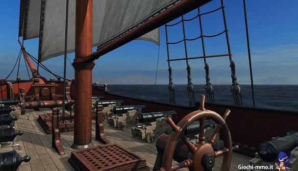 A bordo della nave Naval Action