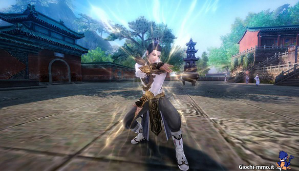 Age of Wulin guerriero Uncharted World