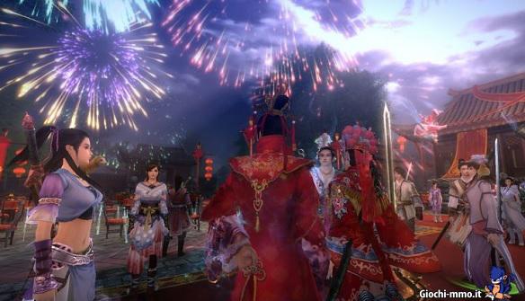 Age of Wushu celebrazione matrimonio