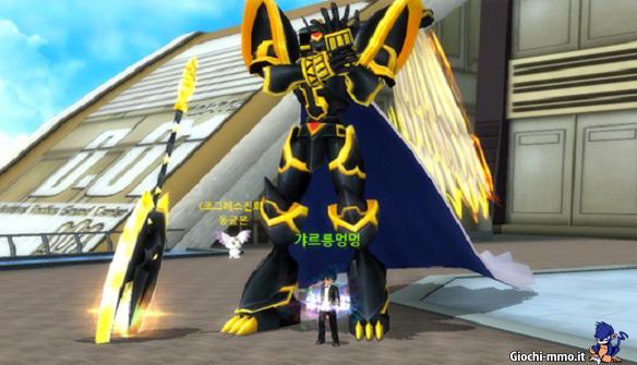 Alphamon Ouryuken Digimon Masters