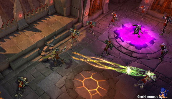 Arciere in combattimento The Mighty Quest for Epic Loot