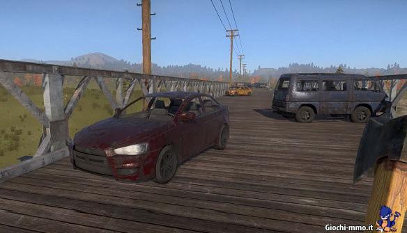 Automobili in H1Z1