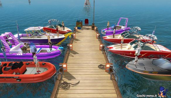 Barche giocatori World of Fishing