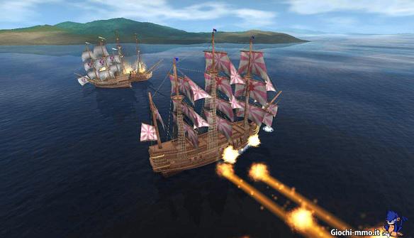 Battaglia in mare Uncharted Waters