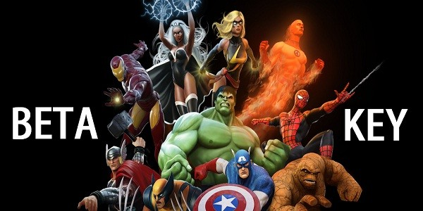 Marvel Heroes: Beta Key Giveaway