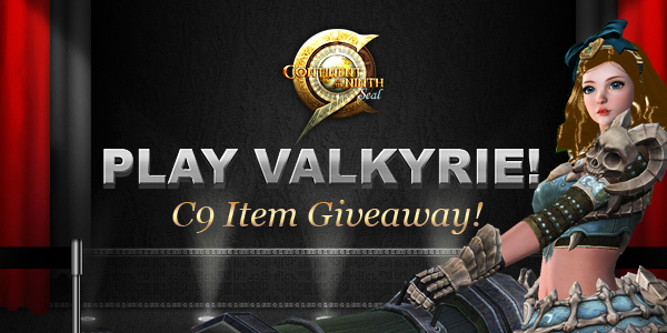 C9: nuova classe Valchiria e Free Item Giveaway