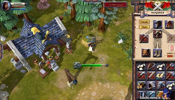 Casa e personaggio Albion Online