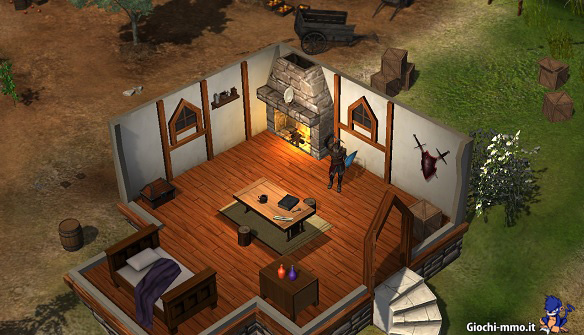 Casa in Shards Online