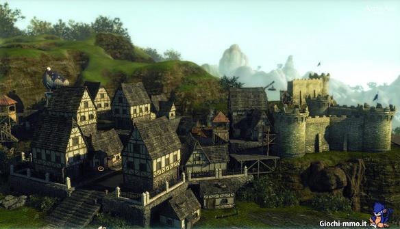Case e castello ArcheAge