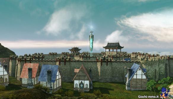 Case e castello in ArcheAge