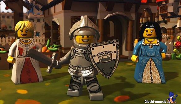 Cavaliere in Lego Minifigures