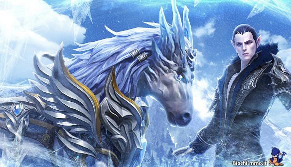 Cavallo di ghiaccio TERA