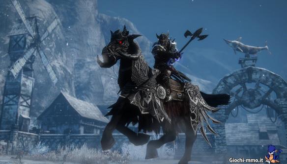 Cavallo oscuro Riders of Icarus